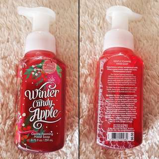 Bath & Body Works Gentle Foaming Hand Soap - Winter Candy Apple