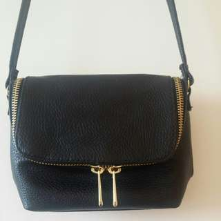 全新h&m mini款黑色袋