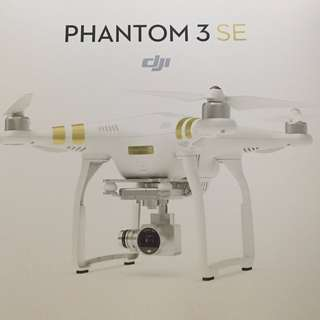 (BRAND NEW) DJI Phantom 3 SE Drone (4K Video/4KM Range) *Last 2 Sets