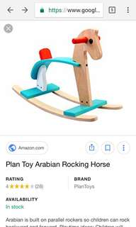 PLANTOYS ARABIAN ROCKING HORSE