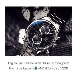 Tag Heuer - Carrera Cal.1887 Chronograph Bracelet