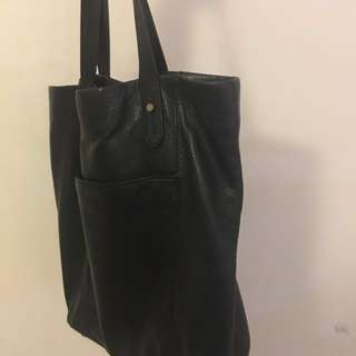 Status Anxiety Leather Tote Bag