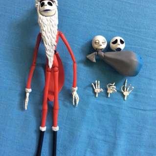 Revoltech Santa Jack Skellington Nightmare Before Christmas