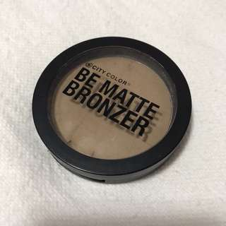 City Color Be Matte Bronzer in Caramel Drizzle