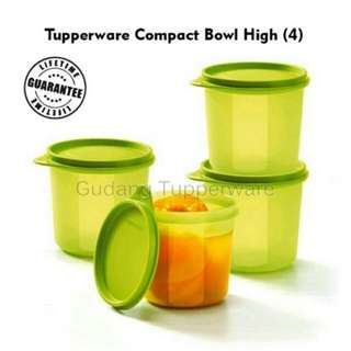 Tupperware Compact Bowl High Toples Besar Kotak Kerupuk