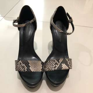 Charles and Keith Wedge Sandals