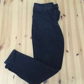 Black High Waisted Jean