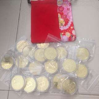 Pouch of Bitcoins - CNY Special Edition