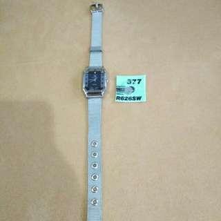 Jam tangan silver + battery