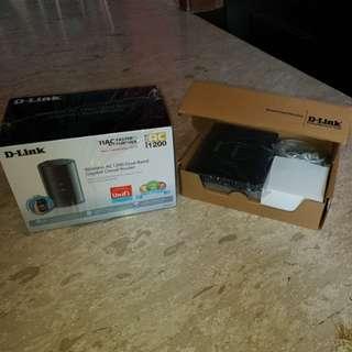 D-Link Router set