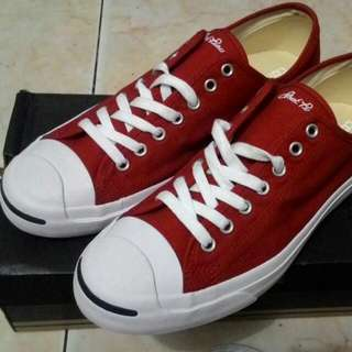 Converse Jackpurcell Signature TerraRed