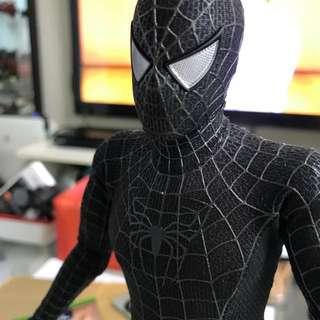 HOT TOYS Black Spiderman