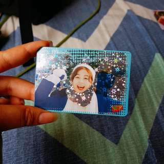 TWICE JIHYO YES! CARD