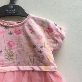 New mothercare floral dress tutu
