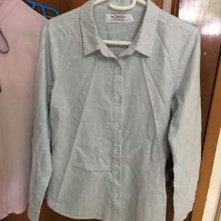 AWE Striped Button-up Shirt
