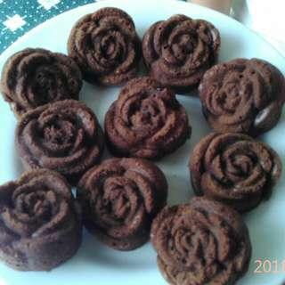 Brownies Mawar Cokelat