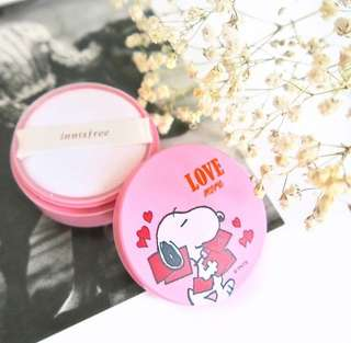 [INSTOCKS] INNISFREE LIMITED EDITION No Sebum Mineral Powder SNOOPY EDITION
