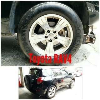 Tyre 235/65 R17 Membat on Toyota RAV4 🐕 Super Offer 🙋♂️
