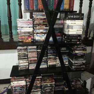 Original DVDs (more than 200 titles) / DVD player