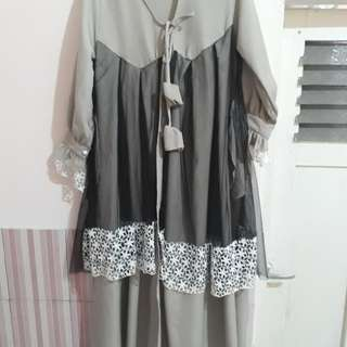 New!! Outer hijab dress