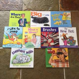 Rigby Literacy Emergent 4 Books for Kids