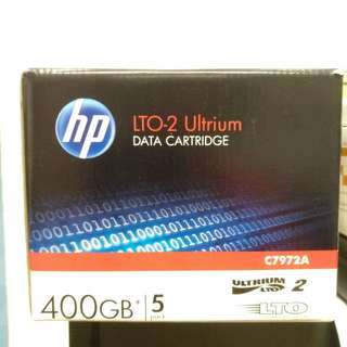 HP Data Cartridge LTO-2 C7972A 400GB