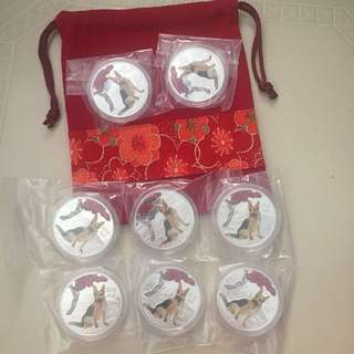 Lucky CNY Dog Coin Pouch