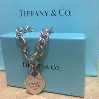 Tiffany&co 心型手鏈 #byebyemyex