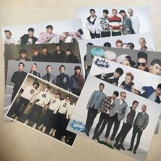 BIGBANG YES CARD PHOTO 9張