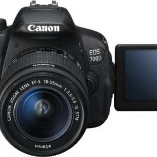 Kredit Dp 10% Canon EOS 700DL Kit 18-55mm - Cicilan tanpa kartu kredit