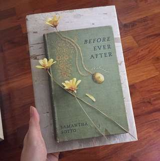 BOOKS Before After by Samantha Sotto