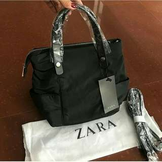 Zara Techincal Fabric Tote