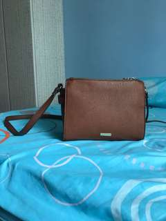 ALDO vintage brown sling bag