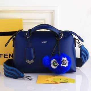 Fendi ByTheWay* Boston include BOX with Wave Multi Strap You & Monster Charm