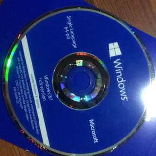 Used Windows 8.1 single language oem 4pcs 800 each