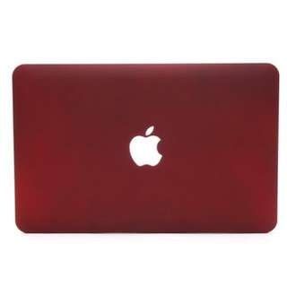 Macbook Maroon Casing #HUAT50sale