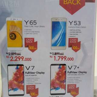 Cash back Vivo