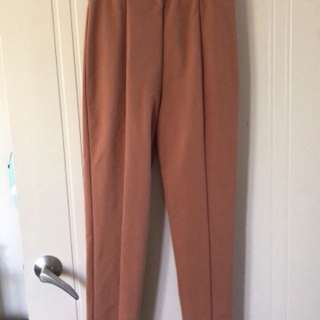 "Tiger mist rust ""can't keep up"" pant"