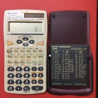 HKDSE考試專用 SHARP EL-506V 計算機 計數機