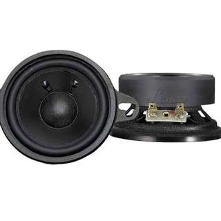 Lanzar 3.5'' Mid Bass Driver 80 Watts Power (Pair)