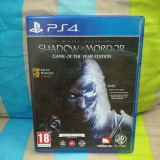 Shadow Of Mordor (Game of The Year)