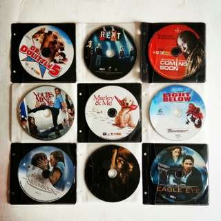 MOVIES!!! -- Original VCDs for Sale!