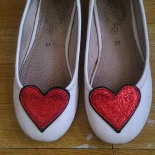 Baby Fashionista white shoes