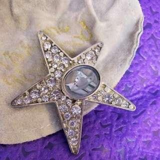 Vivienne Westwood star earring clip單隻