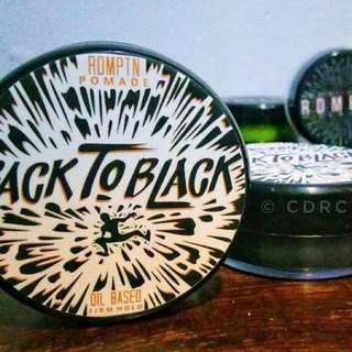 Pomade - RDMPTN Back 2 Black