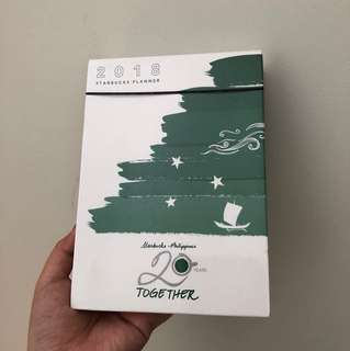 Starbucks Green Planner (small)