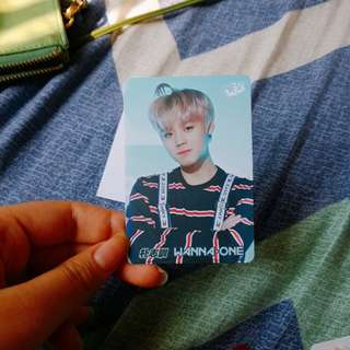 WANNA ONE PARK JIHOON 朴志訓 Yes! card