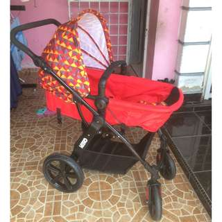 Sweet cherry stroller GL500 vetro with carseat