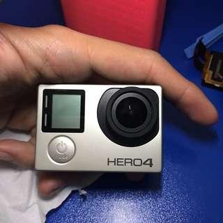 GoPro Hero 4 Silver crack