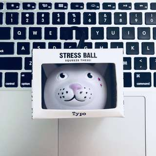 Brand New Typo Stress Ball